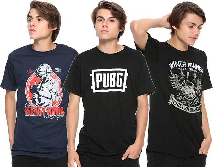 PlayerUnknown's Battlegrounds PUBG T-Shirts