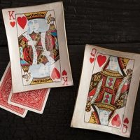 Playing Card Plate