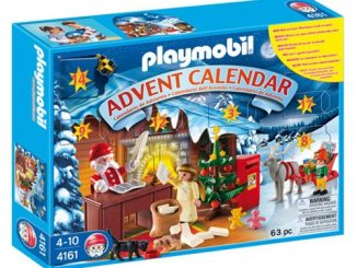 Playmobil 4161 Advent Calendar Christmas Post Office Set