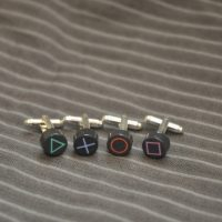 Playstation Button Cufflinks