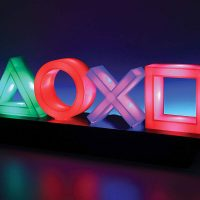 Playstation Icons Lamp On