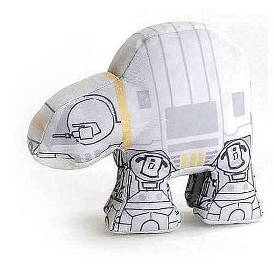 Star Wars AT-AT Super Deformed Plush Vehicle