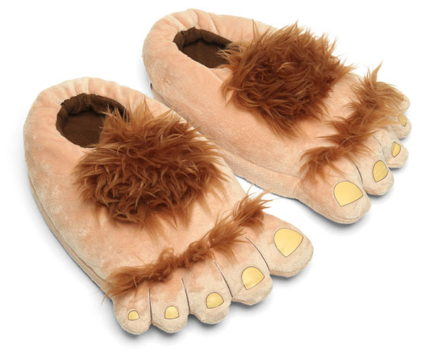 Plush Halfling Slippers