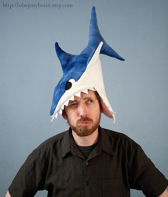 Plush Shark Hat
