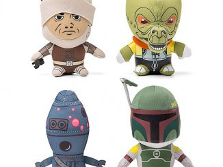 Plush Star Wars Mini Bounty Hunters Set