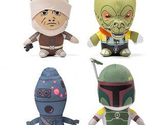 Plush Star Wars Mini Bounty Hunters Set