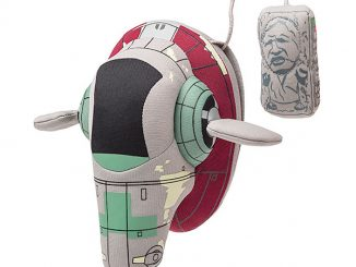 Plush Star Wars Slave 1 Ship with Han Solo