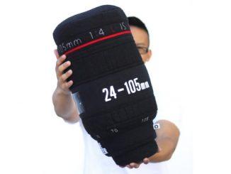 Plushtography Camera Lens Pillows
