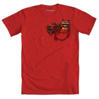 Pocket Raccoon T-Shirt