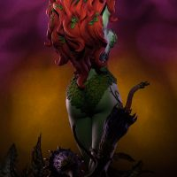 Poison Ivy Green with Envy Premium Format Figure Back
