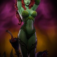 Poison Ivy Green with Envy Premium Format Figure Right Angle