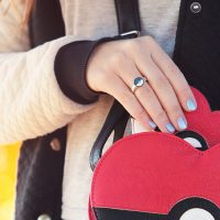 Pokeball Interchangeable ring