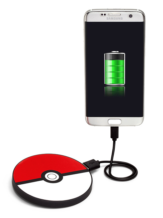 Poké Ball Portable Disc Charger