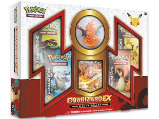 Pokémon Card Game 20th Anniversary Charizard Figure Box