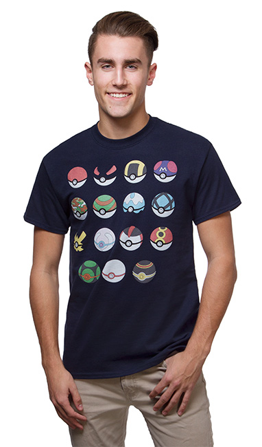 Pokémon Choose Your Poké Ball Tee