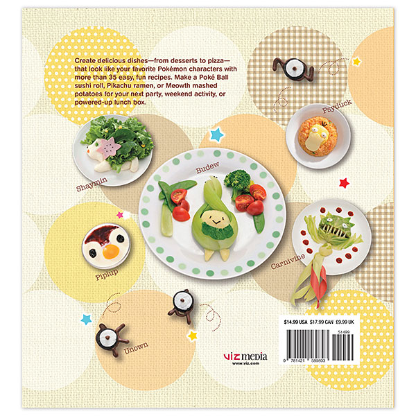 Pokémon Cookbook