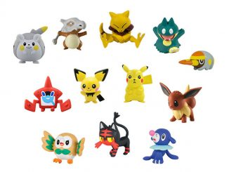 Pokémon Figure 12-Pack