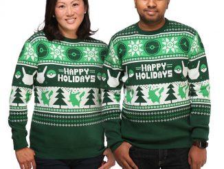 Pokémon Holiday Sweater