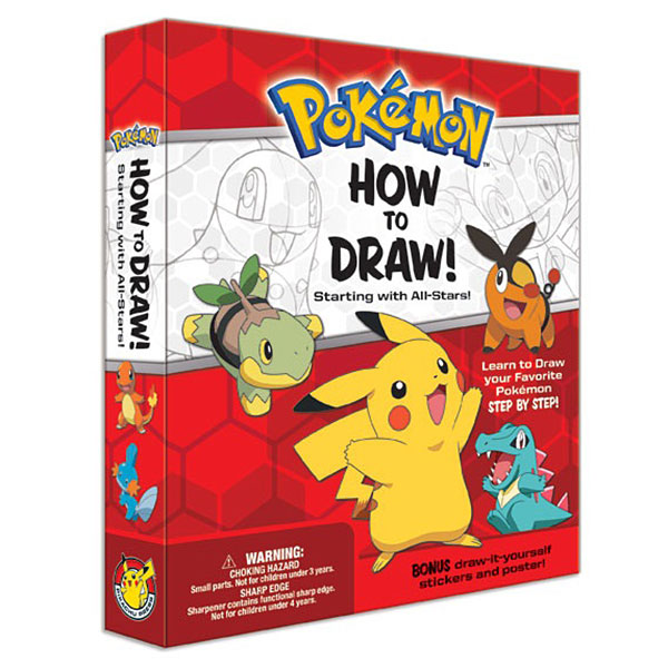 Pokémon How to Draw Kit