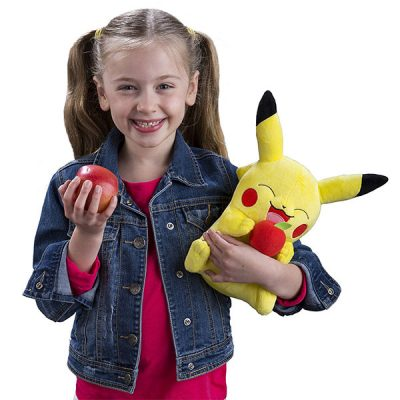 Pokémon Pikachu with Apple Large Plush