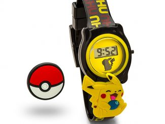 Pokémon Slide Charm LCD Watch