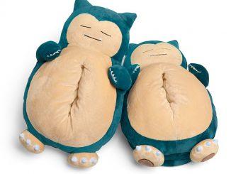 Pokémon Snoring Snorlax Slippers