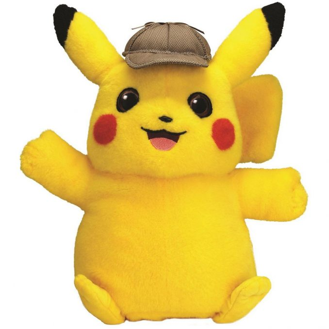 Pokemon Detective Pikachu Talking Plush