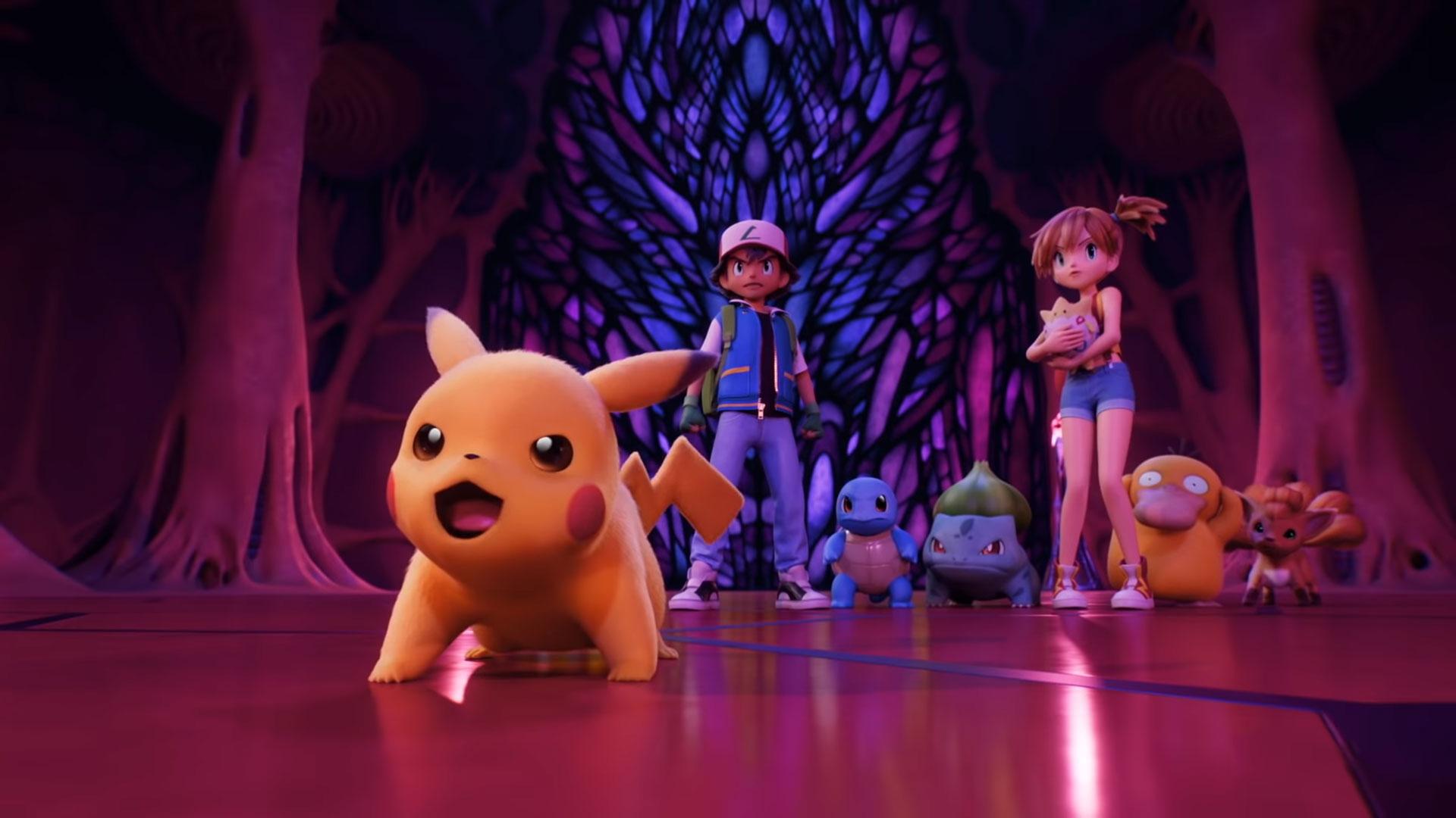 Pokemon Mewtwo Strikes Back Evolution Trailer Netflix