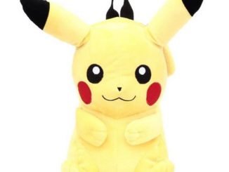 Pokemon Pikachu 17-Inch Plush Backpack