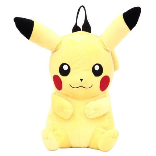 Pokemon Pikachu 17-Inch Plush Backpack