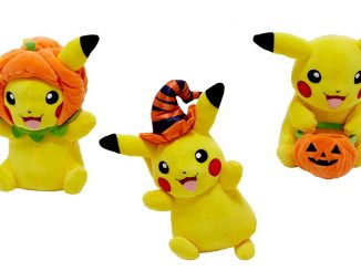 Pokemon Pikachu Assorted Halloween Plushes