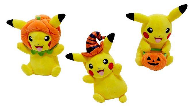 Pokemon Pikachu Assorted Halloween Plushes