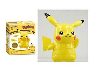 Pokemon Pikachu Figural 3-D Puzzle