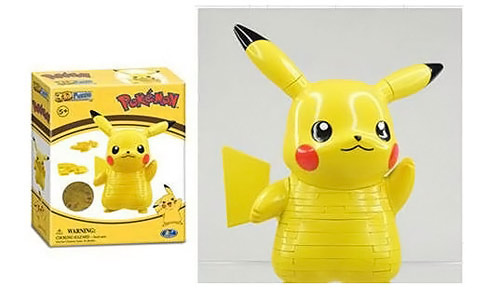 Pokemon Pikachu Figural 3D Puzzle