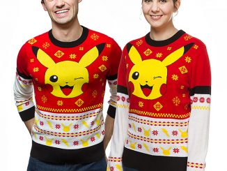 Pokemon Pikachu Holiday Sweater
