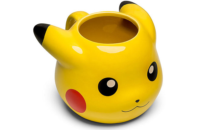 Pokemon Pikachu Molded Mug