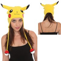 Pokemon Pikachu Yellow Peruvian Beanie