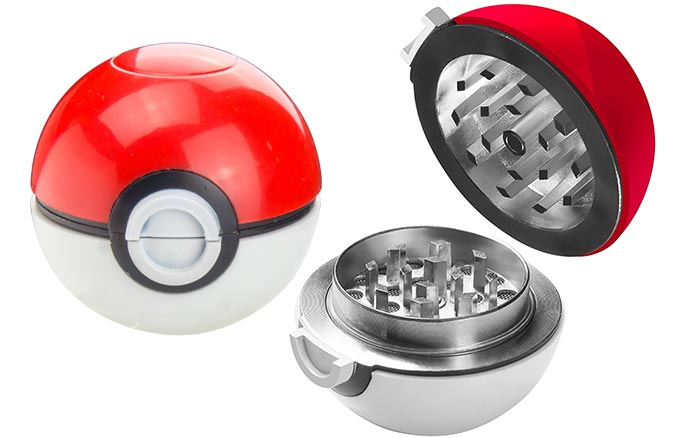 Pokemon Pokeball Herb & Spice Grinder