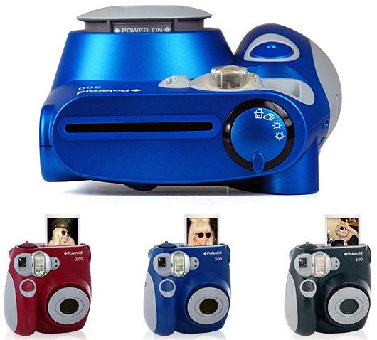 Polaroid 300 Instant Wallet Sized Photo Camera