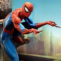 Polystone Spider-Man Statue