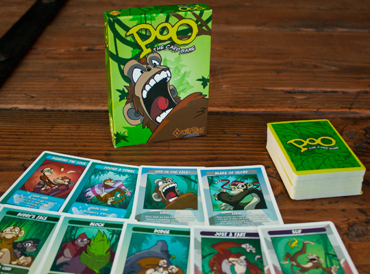 Poo Card Game