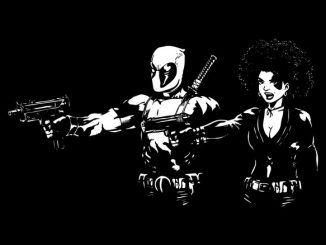 Pool Fiction Deadpool Pulp Fiction Mashup Shirt