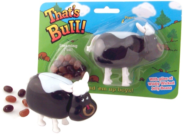 Pooping Bull Candy