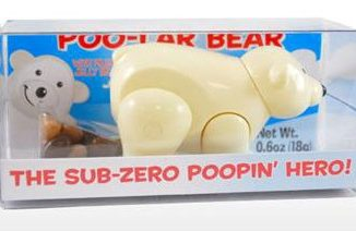 Pooping Polar Bear Candy Dispenser