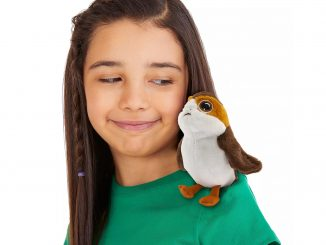 Porg Mini Magnetic Shoulder Plush