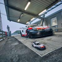 Porsche 911 RSR With LEGO Technic Set