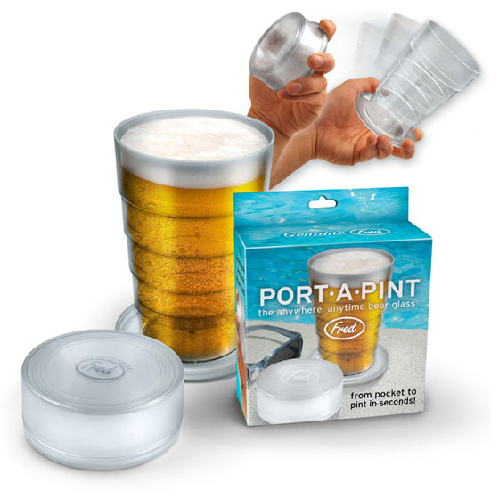 Port-A-Pint Glass