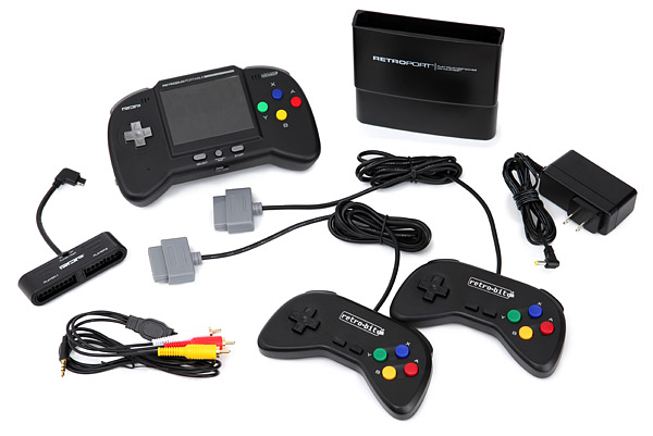 Portable NES/SNES Game System