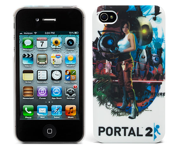 portal 2 aperture logo iphone case geekalerts. Black Bedroom Furniture Sets. Home Design Ideas