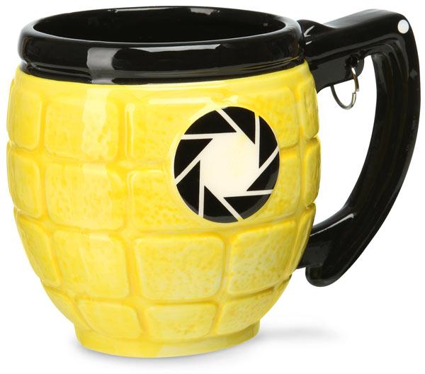 Portal 2 Lemon Grenade Mug